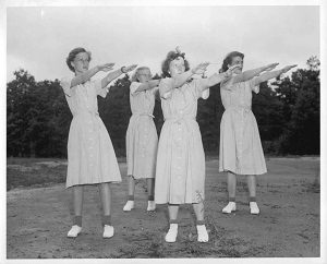 Exercise in the 1950's