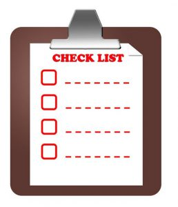 Home Safety Check List