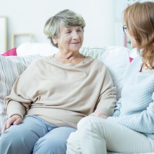 Interviewing a caregiver