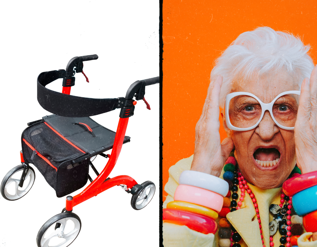 Drive Medical Nitro Euro Style Rollator Walker Review
