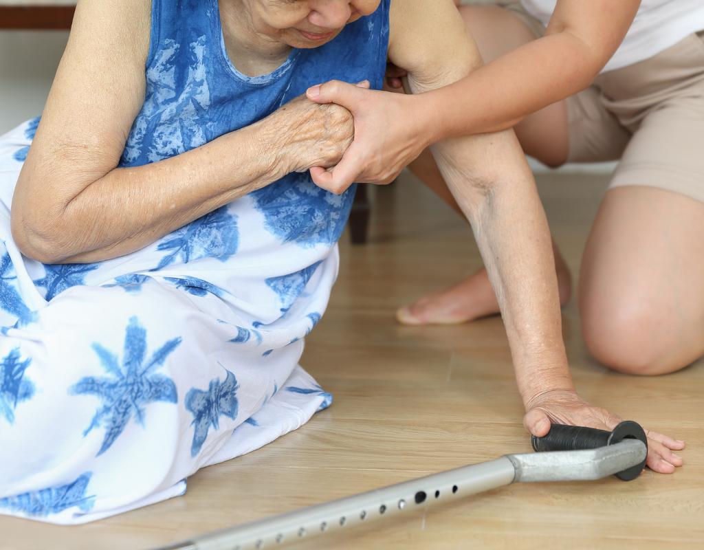 Elderly fall prevention tips