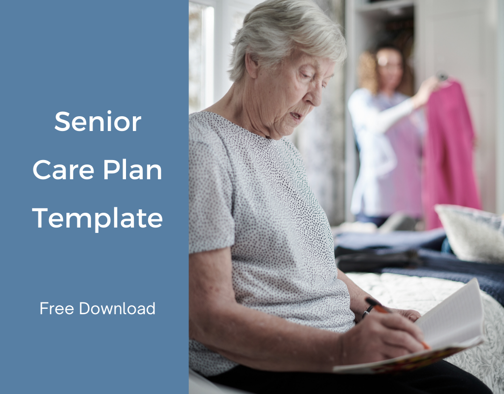 Senior Care Plan Template