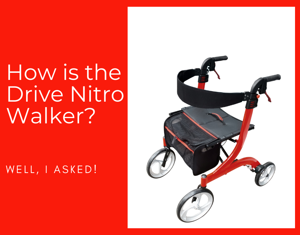 How is the Drive Nitro Walker
