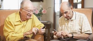 Senior texting code